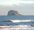 image of the bass rock