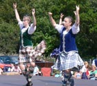 image of highland dancers