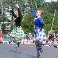 image of highland dancer